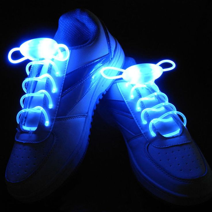 Criminal gets busted wearing light up sneakers.