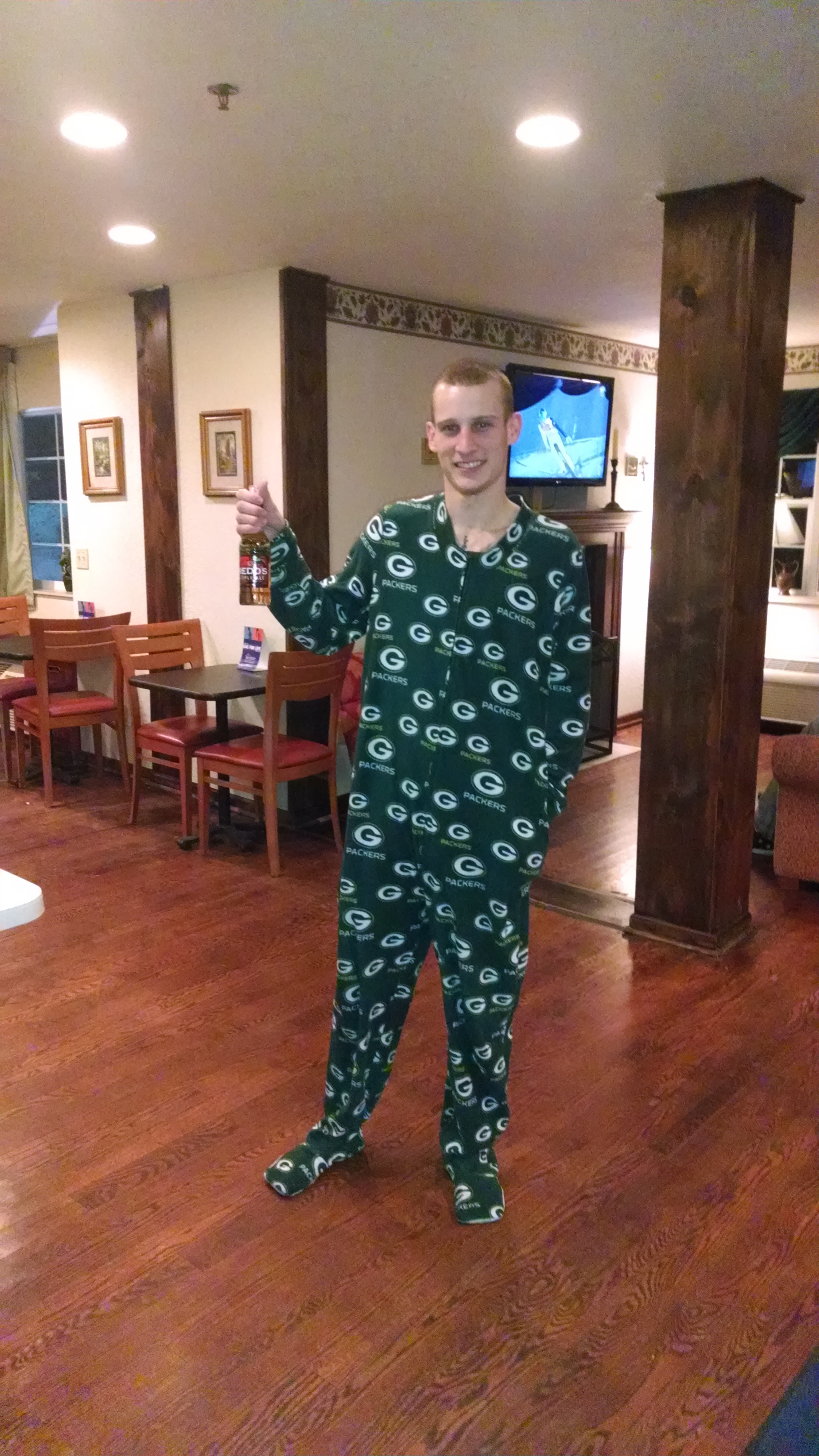 New report shows that sliding in footie pajamas, while playing air guitar on hardwood floors is fastest-rising cause of adult deaths in United States.