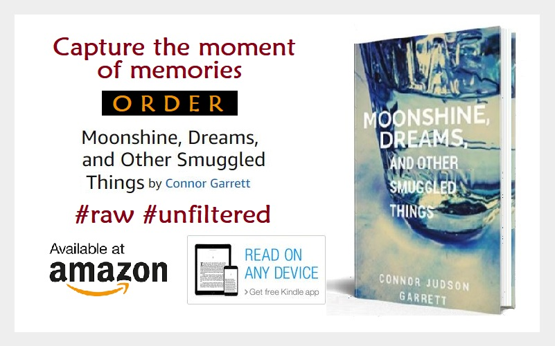 Connor Garrett Author Moonshine Dreams and Other Smuggled Things image block final