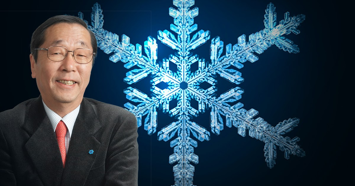 Dr. Mararu Emoto explains why being a millennial snowflake is justified by words and vibes affecting your water composition.