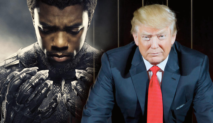 Donald Trump on U.S. relations with Wakanda: It's a Shithole Country