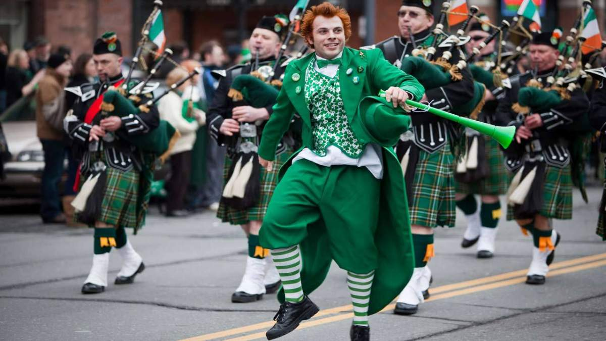 8/10 Americans sure they have a wee bit of Irish in em as St. Patty's Day approaches.